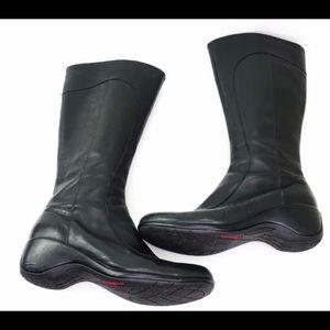 Merrell black leather waterproof angelic peak boot